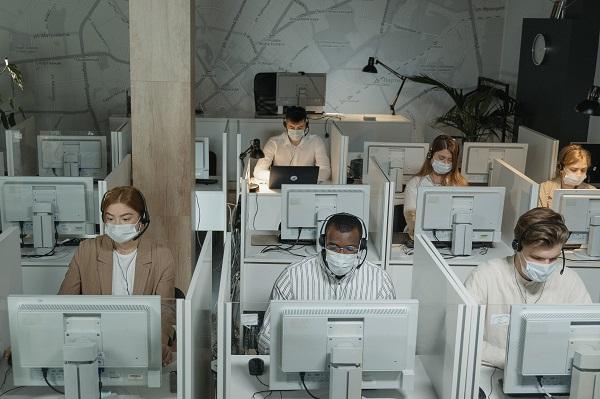 Covid office